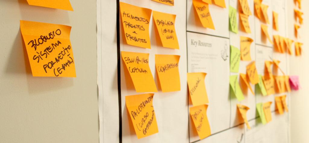 processo de criação do design estratégico em ação